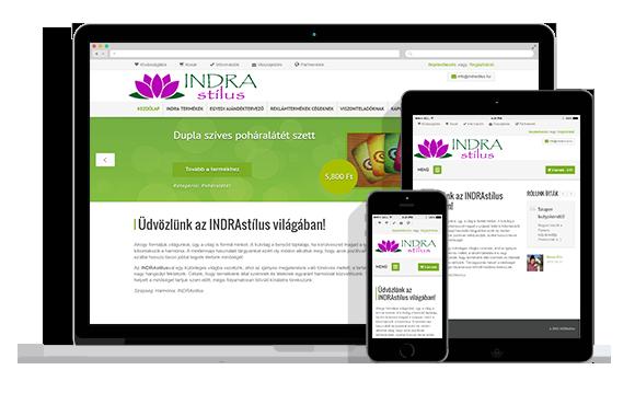 INDRAstílus webáruház